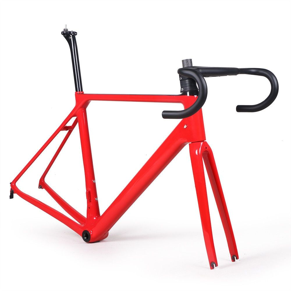 11 color carbon fiber road bike frame fork clamp seatpost Carbon Road bicycle Frame 880g offer XDB DPD free tax service
