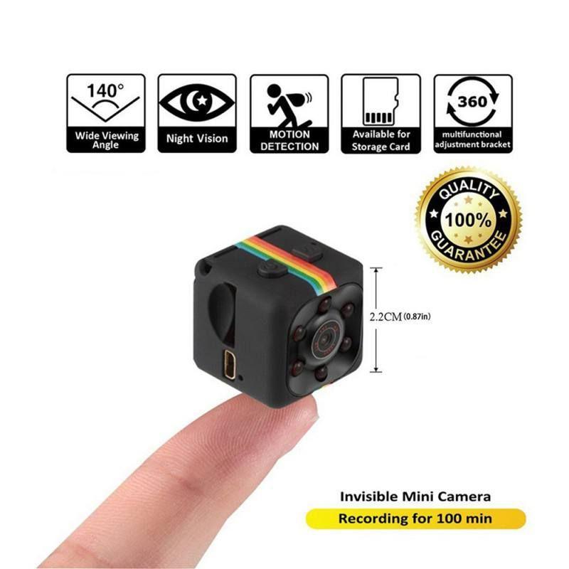 Night Vision Video Voice Recorder SQ11 Mini Camera 640*480 DV Micro Sport Camera Car DVR Mini Action Cam Camcorder 2018