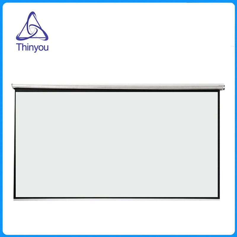 Thinyou 100inch 16:9 Projector HD Screen roll Front Projection Screen Fabric For Office Cinema home Education