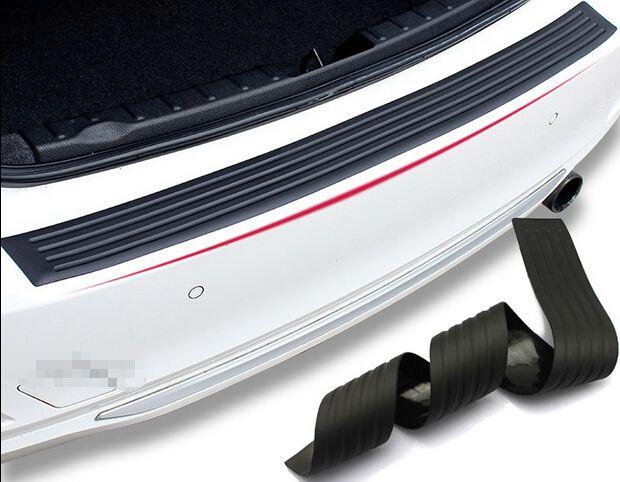 Style de voiture, protecteur en caoutchouc de pare-chocs arrière pour Volkswagen vw Touran, golf, bora, jetta, passat