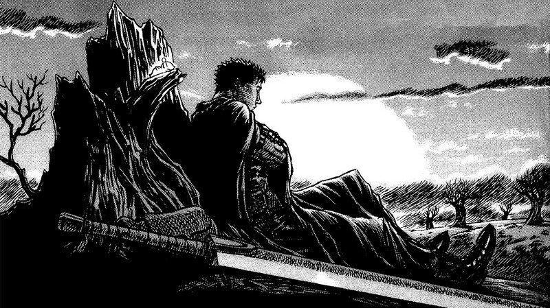 128 berserker-Manga Kentaro Miura Japanischen Anime 25