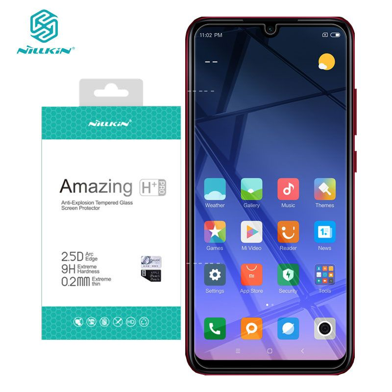 Xiaomi Redmi Note 7 Tempered Glass Nillkin Amazing H+Pro 0.2MM 2.5D Arc Screen Protector Glass for Redmi Note 7 Pro 7S Note7