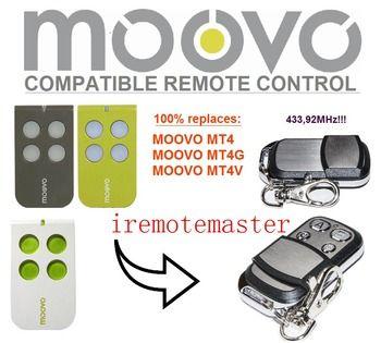 Moovo MT4, MT4G, MT4V garage TÉLÉCOMMANDE de remplacement DHL livraison gratuite
