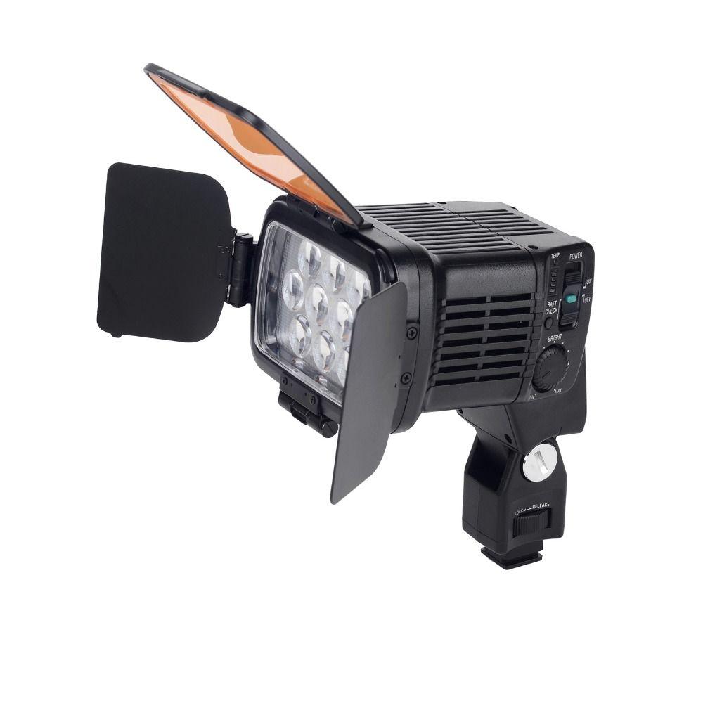 20 W 10 LED Dimmable Lampe Continue Lumière PSL-1800 pour Caméscope Caméra Vidéo DSLR DV