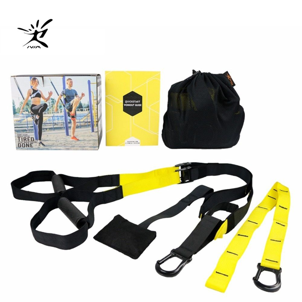 Resistance Bands Elastic Band Fitness Hanging Training Strap <font><b>Exercise</b></font> Strength Trainer Belt Fitness Equipment Workout Crossfit