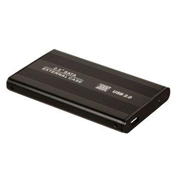 Aluminum Metal External HDD Caddy 2.5 inch SATA External Case USB 2.0 HDD Hard Drive Case