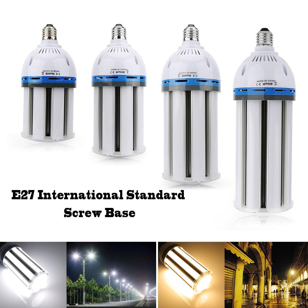 LED lumière de maïs 30 W 40 W 50 W 60 W lampe à LED E27 E40 ampoule de maïs chaud/blanc froid AC85-265V pour l'éclairage carré d'entrepôt d'usine