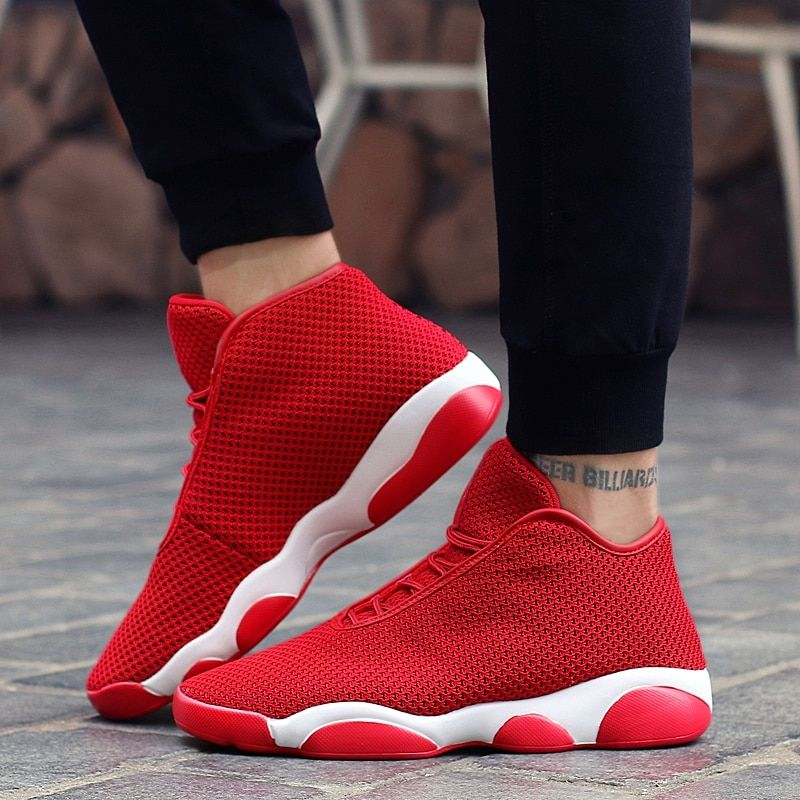 2018 High Quality Boy Shoes Brand Basketball Shoe Children Sneakers Black Kids Basketball Boots Leather Kid Shoes Sport Trianers