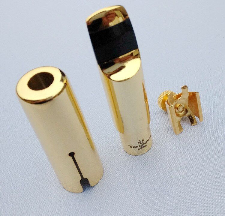 Japan Yanagisawa High Quality metal mouthpiece alto /tenor/Soprano saxophone 5--9 number metal mouthpiece and tooth pads gifts