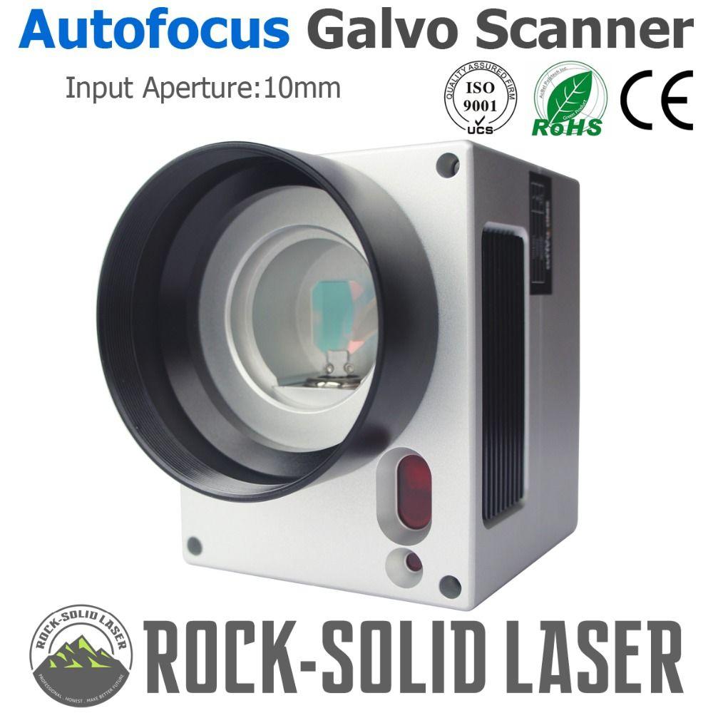 Autofokus Galvo Scanner Kopf mit Auto Mit Schwerpunkt Controller Faser Laser Kennzeichnung Maschine 1064nm Eingang 10mm SG2206 Galvanometer