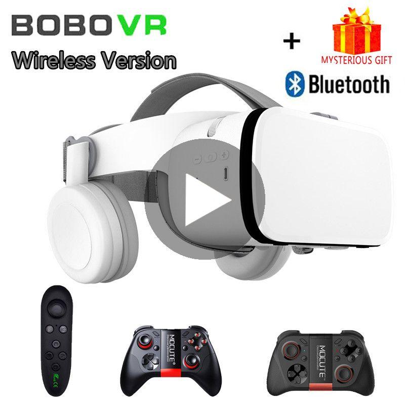 Bobo VR Bobovr Z6 Helmet 3D Glasses Virtual Reality Headset For iPhone Android Smartphone Smart Phone Goggles Lens Lunette 3 D