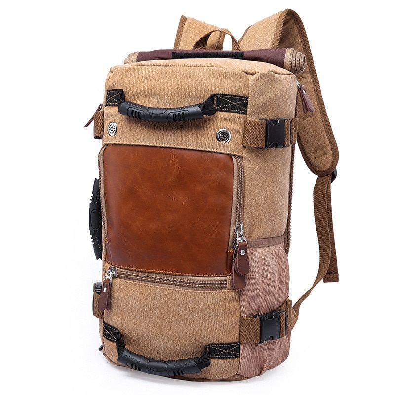 KAKA Brand Stylish Men Backpack Large <font><b>Capacity</b></font> Travel Bag Male Luggage backpack Shoulder Bag Computer Backpacking Functional