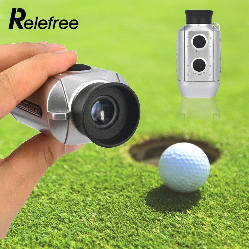 Relefree цифровой 7x карман Гольф дальномер электронный область расстояние Гольф область + ремень