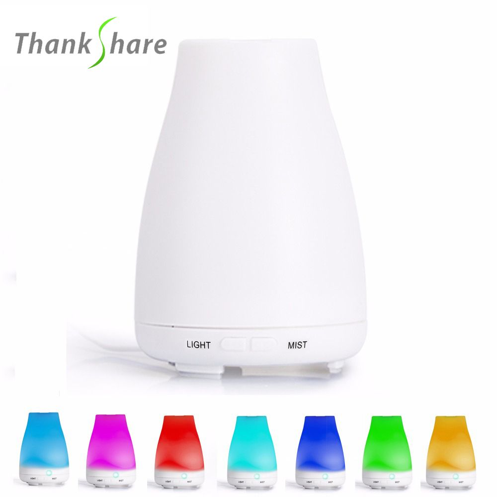 Humidificateur à ultrasons Diffuseur d'arôme aromathérapie Humidificador Para Diffuseur Huile Essentiel brumisateur LED changement de couleur pour SPA