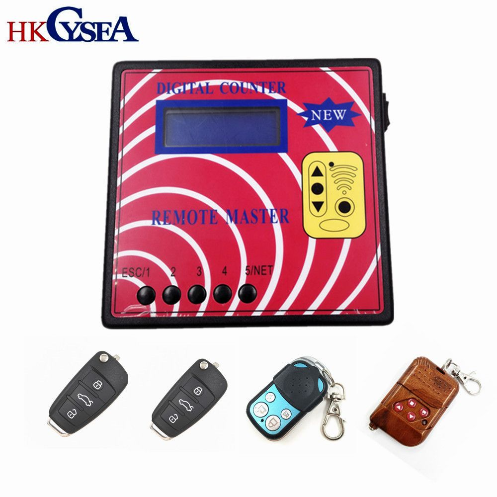 HKCYSEA Computer Remote Control Copying Machine Digital Counter Remote Master With 4pcs Fixed Code Model A Remote Keys