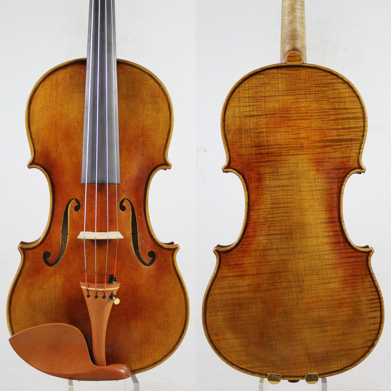 60-y alte Fichte! Guarnieri 'del Gesu''Ole Bull' Violine violino Kopie! M9018 Einem Pc Zurück! Konzert 4/4 Violine, Top Öl Lack