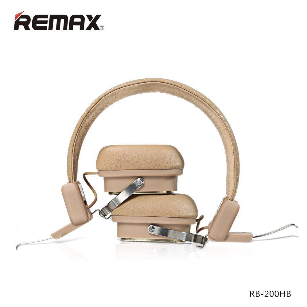 Remax 200HB Bluetooth Earphones Adjustable HIFI Noise Cancelling Headphone with MIC For Mobile Phone Iphone se xiaomi headphones