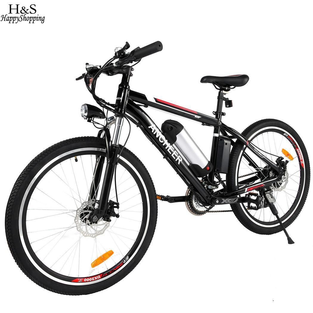 26 inch Wheel Aluminum Alloy Frame Mountain Bike Cycling Bicycle