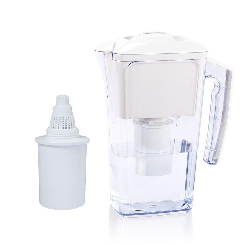 10-Cup capacity BPA Free Alkaline Water Filter Jug Pitcher like Brita EverydayUse get alkaline ionized drink water 2.5L alka jug