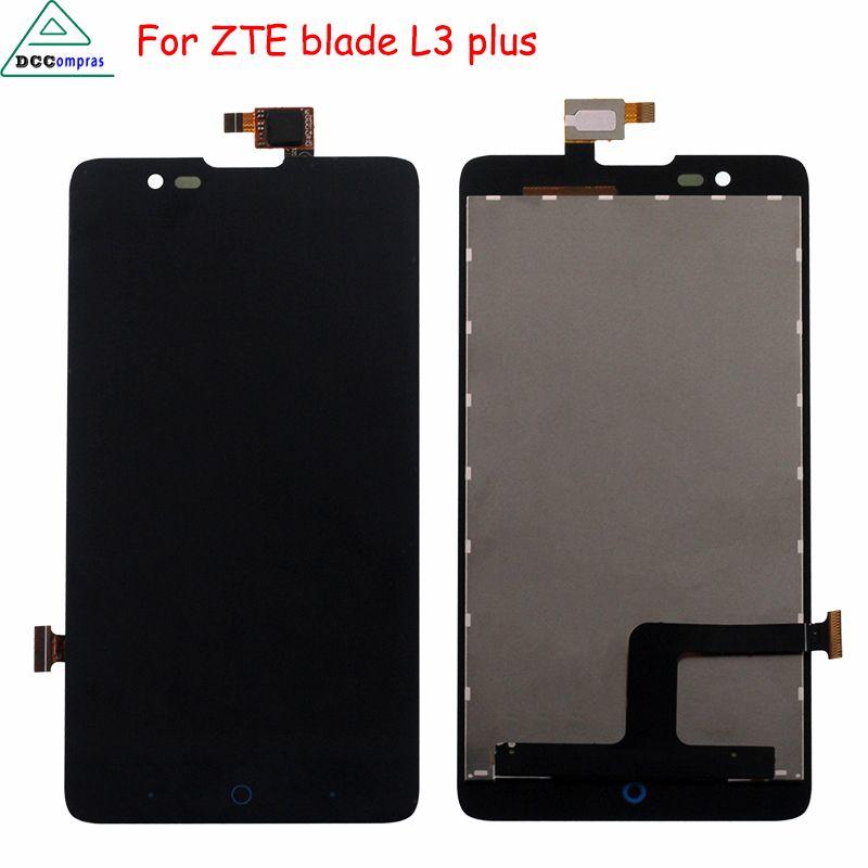 Pour ZTE Blade HN V993W L3 plus Écran lcd Tactile Écran Digitizer Assemblée Pour ZTE Lame L3 Plus Écran LCD Téléphone Pièces