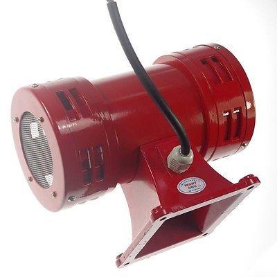 AC220V 150db Motor Driven Air Raid Siren Metal Horn Double Industry Boat Alarm For Industry Boat Alarm MS-490
