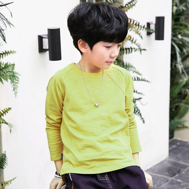 2018 Children's clothing Autumn O-Neck Cotton long-sleeved Hoodies Sweatshirts baby boys girls kids Children sportswear N46