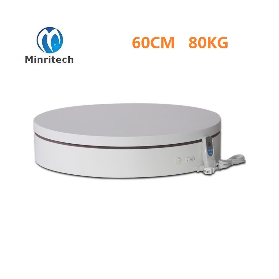 2017 Rushed 60cm Clothing Display Platform Of 360 Degrees Electric Rotating Speeds Control For Intelligent Remote Rotary Table