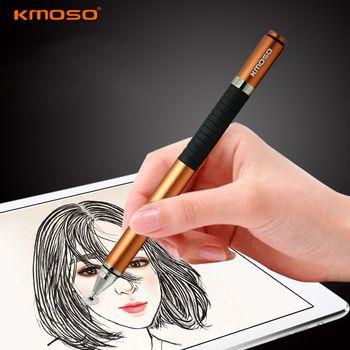 Haute Qualité Universel 2 en 1 En Alliage D'aluminium Métal Capacitif Écran tactile Stylet Pour iPad Samsung ASUS Tablet Mobile téléphone