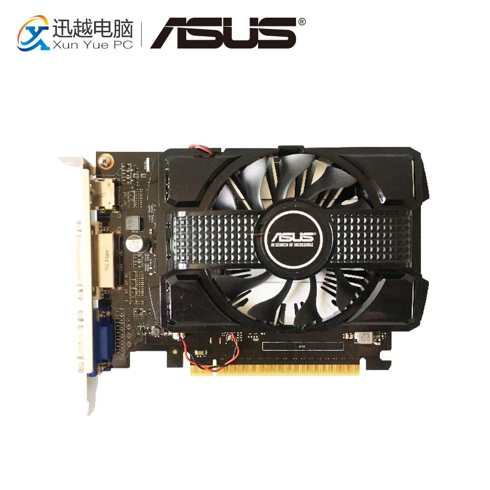 ASUS GTX 750 2 gb DP GDDR5 Original Grafikkarten 128 Bit GTX750 Video Karte VGA DVI HDMI Für Nvidia geforce