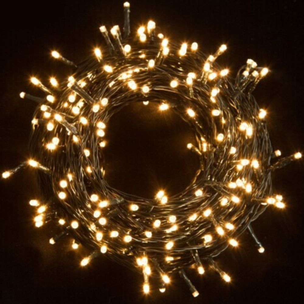 30M Waterproof 200LED String Lights LED Fairy Lights Ideal for Christmas Trees Xmas Party Wedding Outdoor Decoration With Power