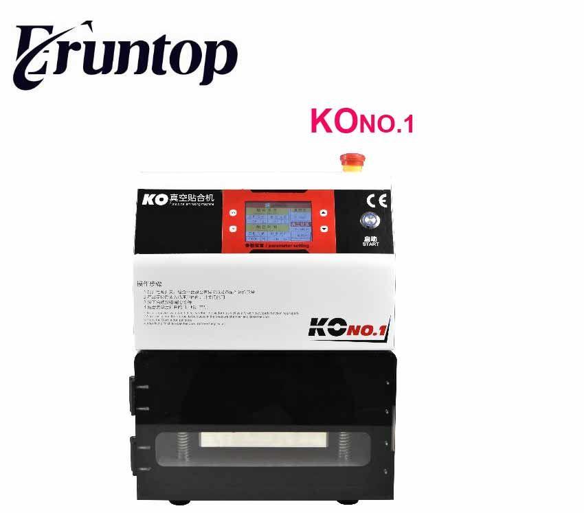 7inch KO No.1 MT-07 Universal 12inch FT-12 OCA Film Lamination Machine need Air Compressor and Vacuum Pump Bubble Remover
