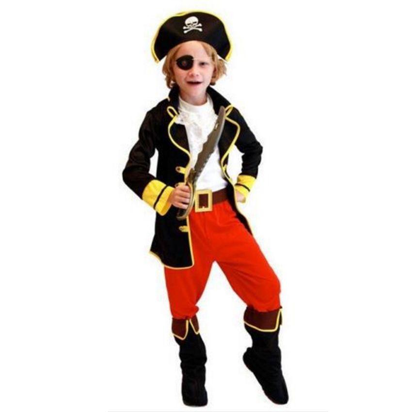 NOUVEAU Pirates Pirate Des Caraïbes déguisement Costume Enfant Enfants Garçons Premier Anniversaire Party Girl