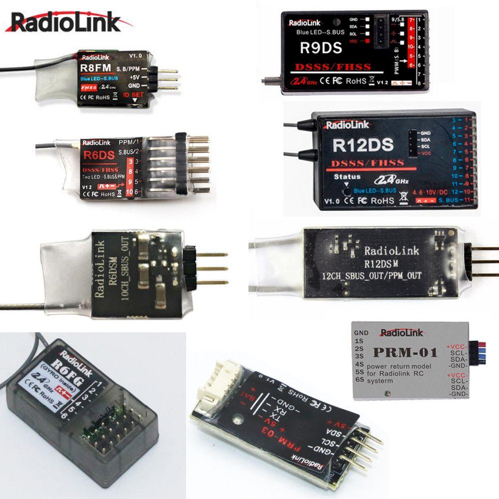 Radiolink R12DSM R12DS R9DS R8FM R6DSM R6DS R6FG Rc Empfänger 2,4g Signal für RC Sender