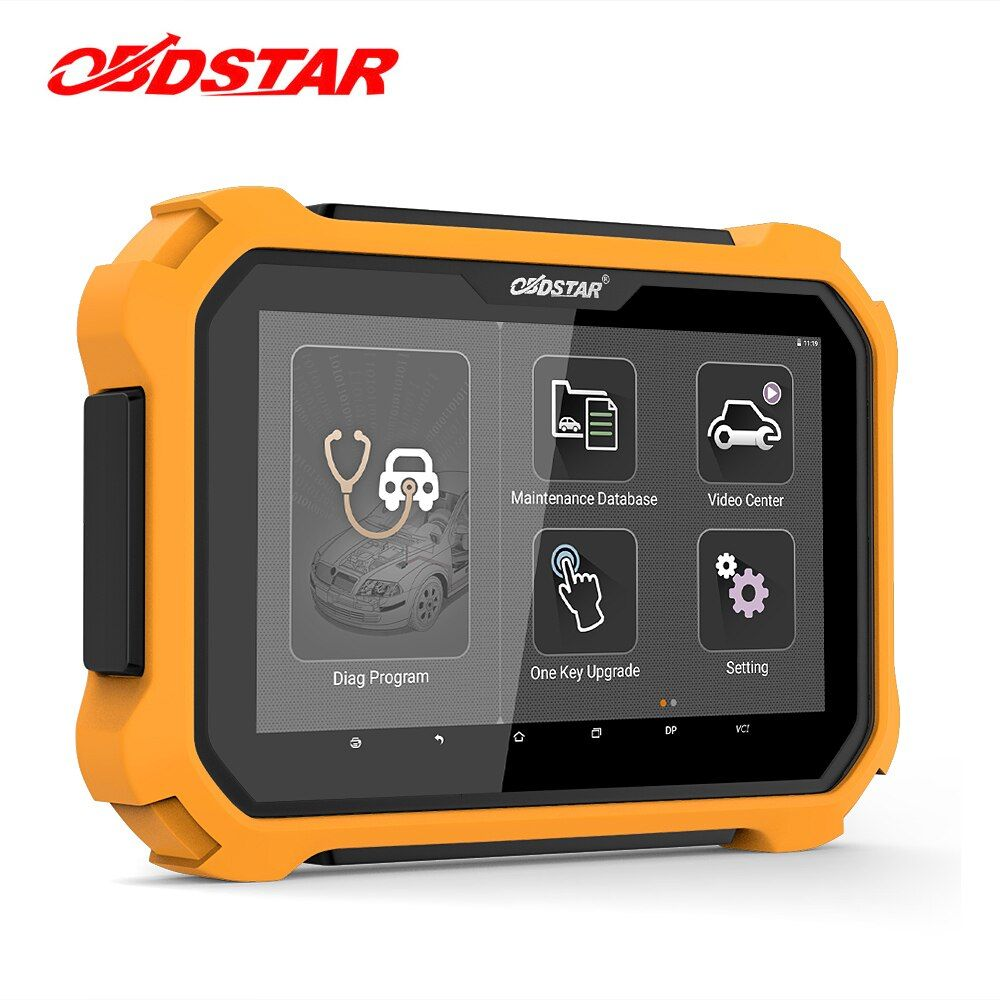 OBDSTAR X300 DP PLUS Auto Key Programmer Tablet Immobilizer Key Master DP OBD2 Automotive Scanner Tool All Key Lost ECU Clone