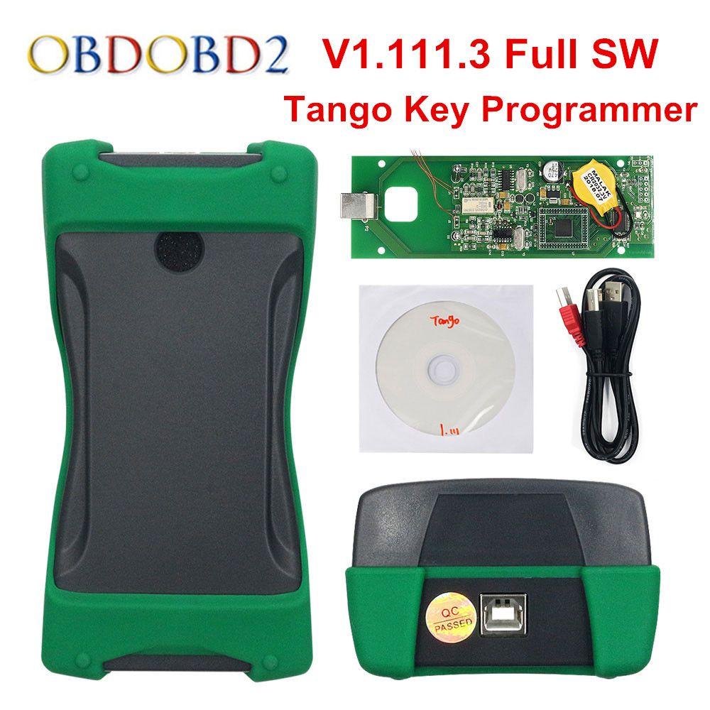 Neueste Tango Schlüssel Programmierer V1.111.3 OEM Tango Auto Schlüssel Programmierer Mit Alle Software Tango Programmierer DHL Kostenloser Versand