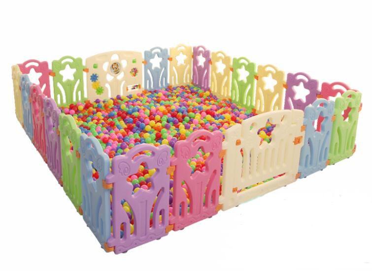 Baby Laufstall Innen Zäune Für Kinder Im Freien Kinder Spielen Hof