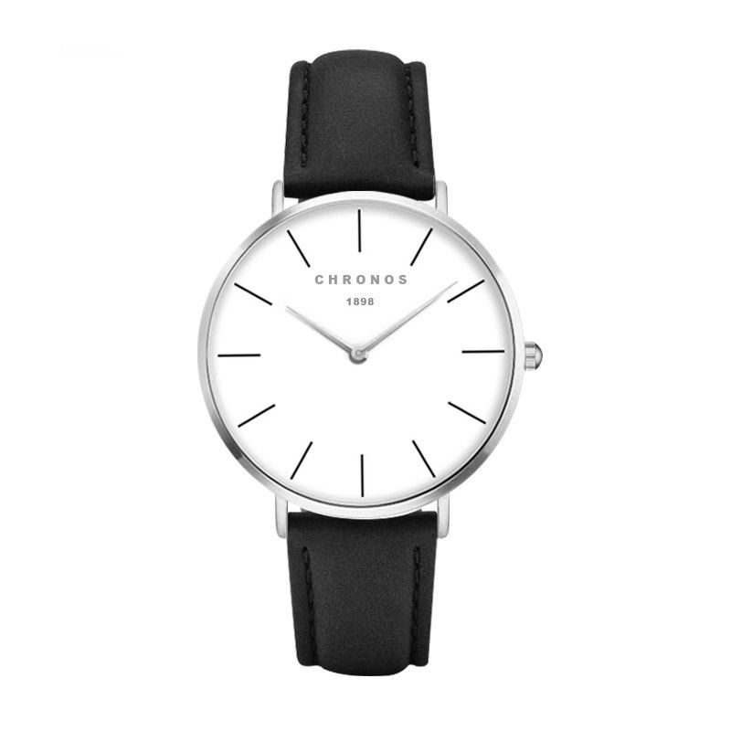 CHRONOS  Watch men and women fashion leisure sports clock classic nylon male quartz watch relogio a variety of colors