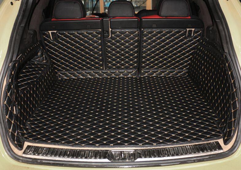 Gute! Spezielle auto stamm matten für Porsche Cayenne 958 2017-2010 durable boot teppiche cargo-liner für Cayenne 2016, freies verschiffen