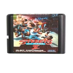 Streets Of Rage 2 16 bit MD Game Card For Sega Mega Drive For Genesis