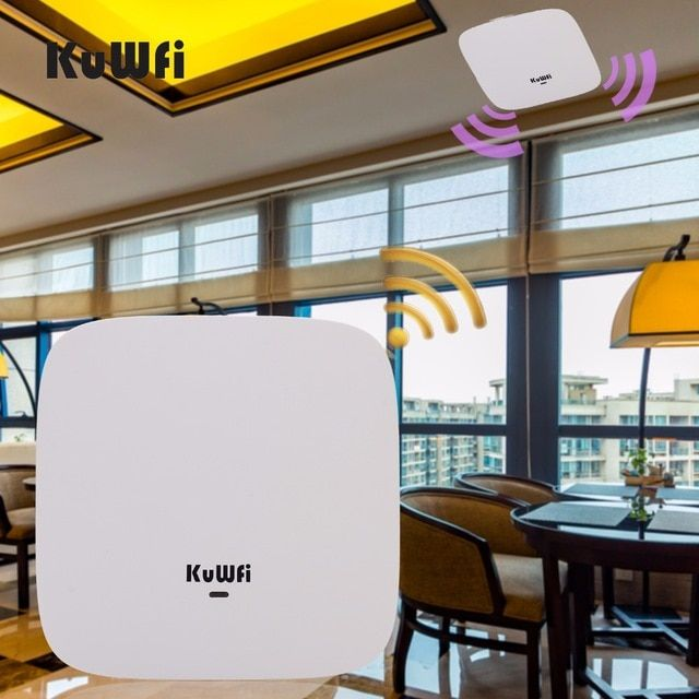750Mbps Wireless Access Point Router High Power 2.4G/5G Ceiling AP Router 802.11ac Wifi Repeater Wifi Extender Support 24V POE