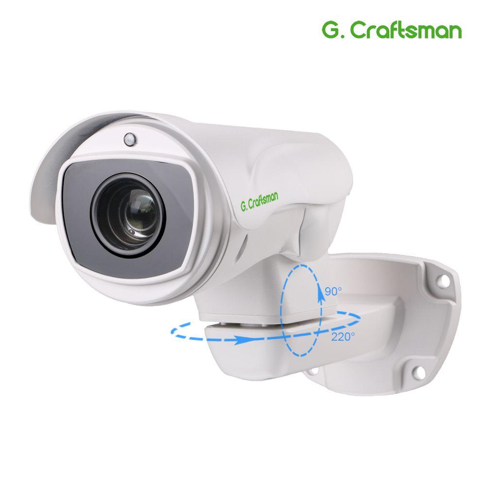 5.0MP 4.0MP POE 10X PTZ IP Kamera H.265 Outdoor 5,1-55mm Optische Zoom IR 80 M P2P CCTV sicherheit Wasserdichte G. handwerker