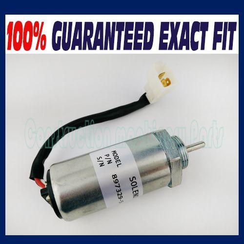 Kraftstoff Abschaltung Magnet fit Isuzu 3LD1 3LD2 4LE1 3LB1 4LB1 Motoren 897329-5680 8973295680