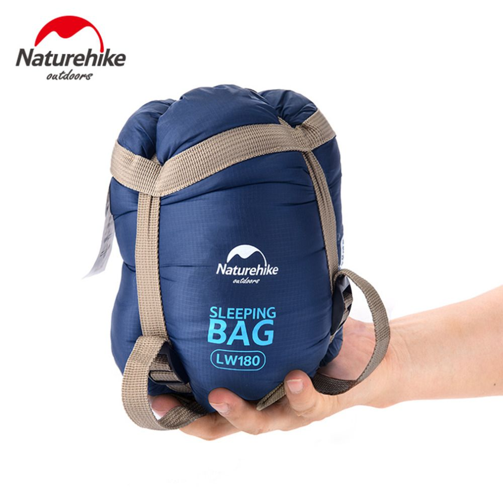 NatureHike Mini Ultralight Multifuntion Portable Outdoor Envelope Sleeping Bag Travel Bag Hiking Camping Equipment 700g 5 Colors