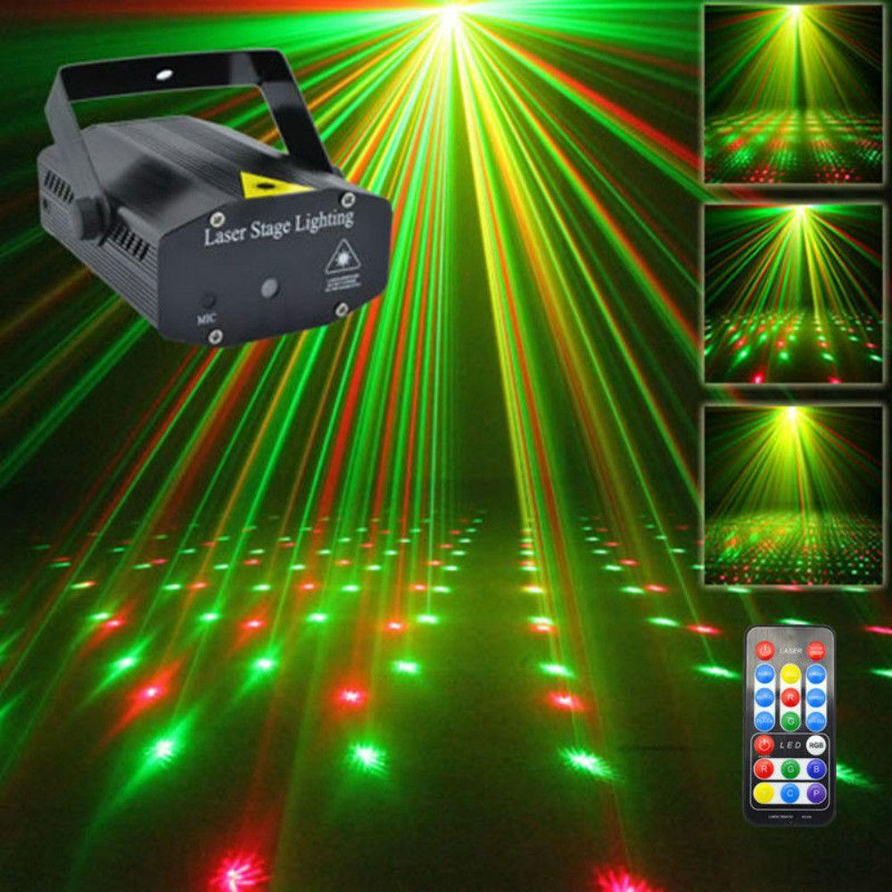 Projecteur de Laser de douche de météore de galaxie RG à distance portatif d'aucd Mini allume Dsico DJ éclairage d'étape d'exposition de noël de fête à la maison OI100B