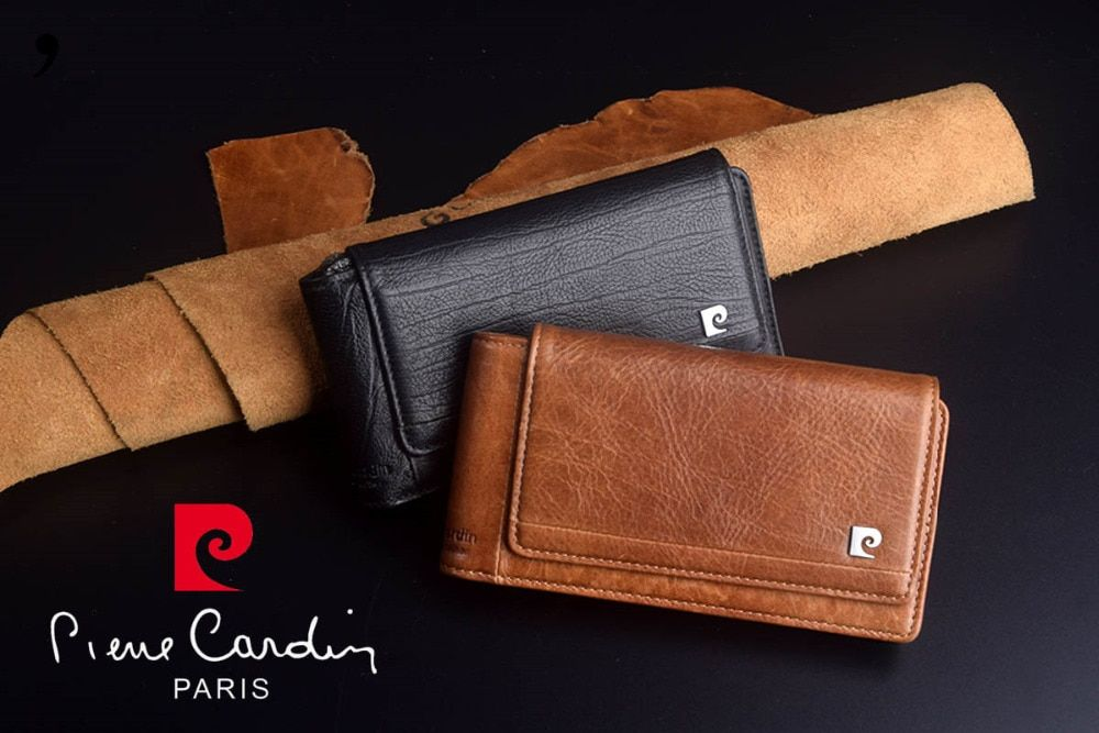 Brand New Pierre Cardin Genuine Leather Hanging Belt For Samsung Galaxy S7 edge/NOTE 5/7 Free Shipping