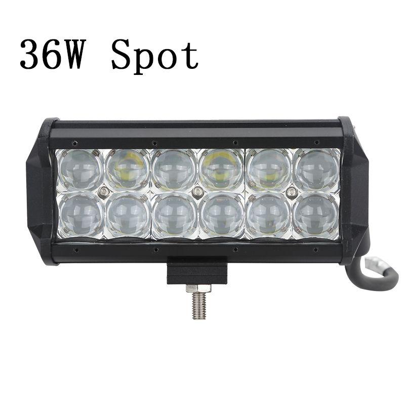 Green-L LED Work Light 5D Dual Row LED Light Bar Spot Flood Combo Beam Offroad 4WD 4x4 LED Bar for Pickup Camper Trailer 12V 24V