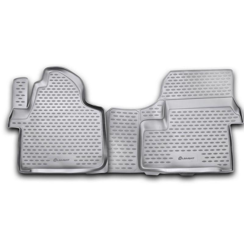 Teppich matten innen Für MERCEDES Sprinter 2006-2013, 2 PCs (polyurethan)