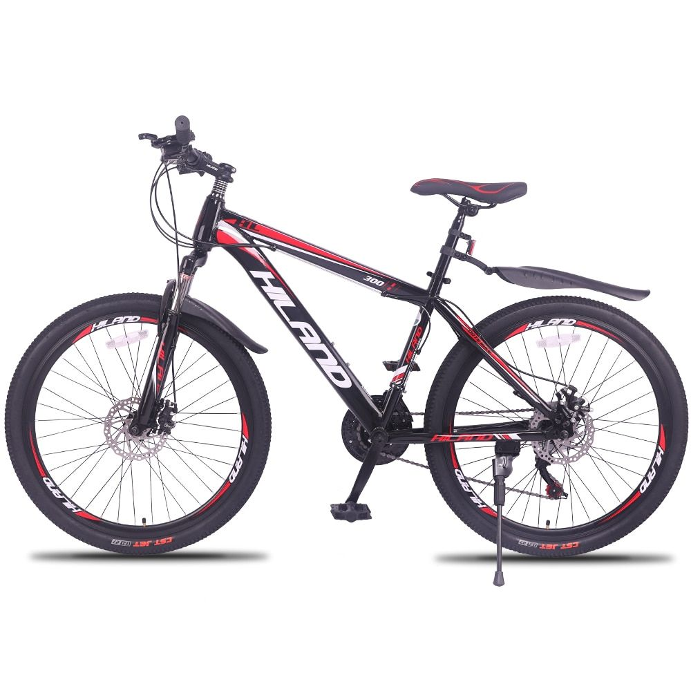 21/27 geschwindigkeit Mountainbike Fahrrad 26/27,5 zoll stahl oder aluminium rahmen rot und schwarz aviliable MTB freies verschiffen