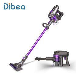 Dibea F6 2-en-1 Sans Fil Aspirateur Bâton Droit et Pratique Vide Tapis De Nettoyage Puissant De Voiture Vide Sans Fil Vide