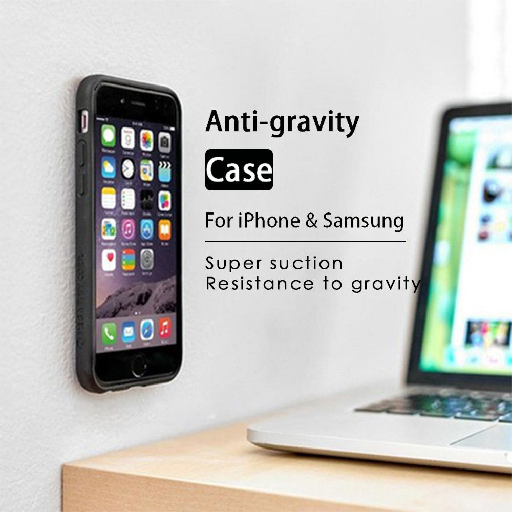 KISSCASE Anti Gravity Case For iPhone X 8 7 6 6S Plus XS Max Cases Phone Cover For Samsung Galaxy S6 S7 Edge S8 S9 Plus Note 8 9